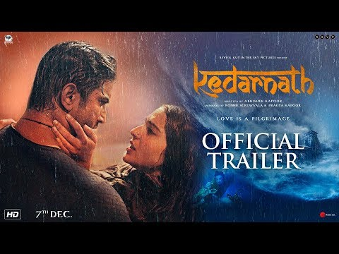 Kedarnath Hindi Movie Trailer 2018.