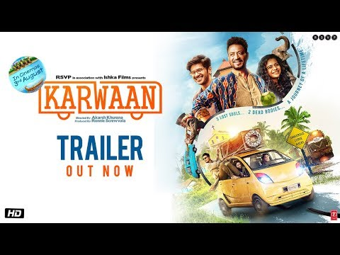 Karwaan Official Trailer 2018.