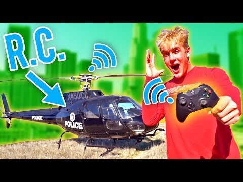 Jake Paul made remote controlled helicopter??