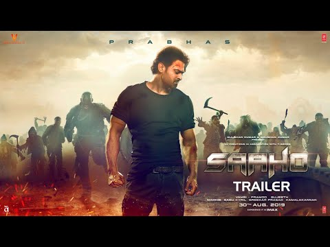 Saaho trailer poster 2019.