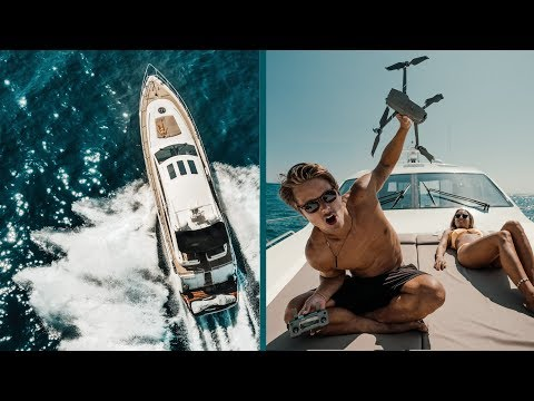 MAVIC 2 ZOOM feat. Princess V 65- Jon Olsson-Marbella last day.