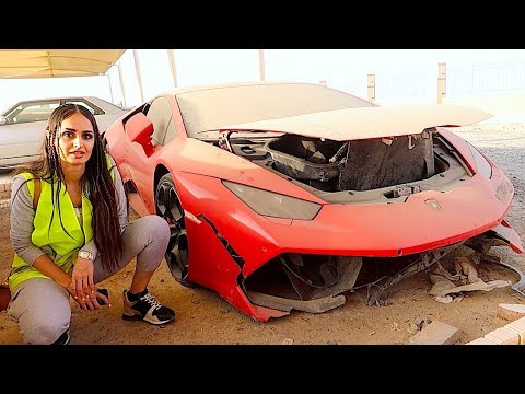 Lana Rose Bought a Crashed Lamborghini?
