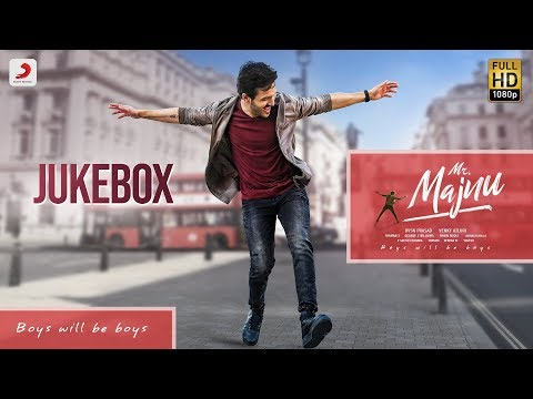 Mr. Majnu Jukebox- Telugu movie songs 2019.