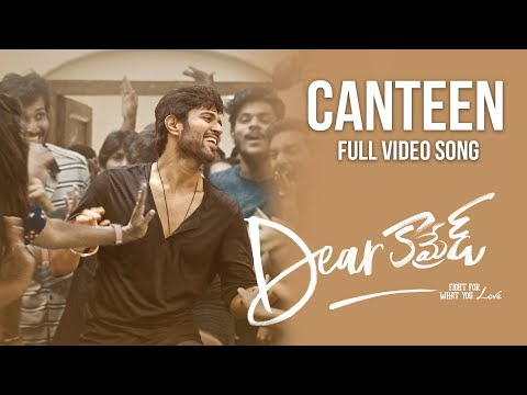 Canteen- Dear comrade movie song poster 2019