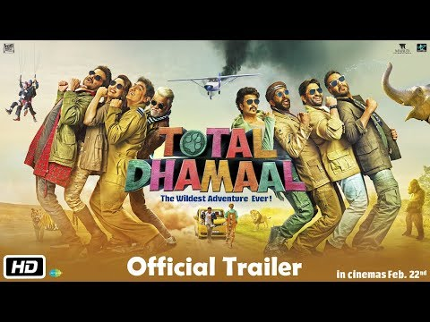 Total Dhamaal Official Trailer 2019.
