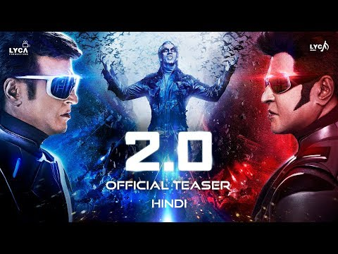 2.0 Hindi movie Official movie trailer 2018.