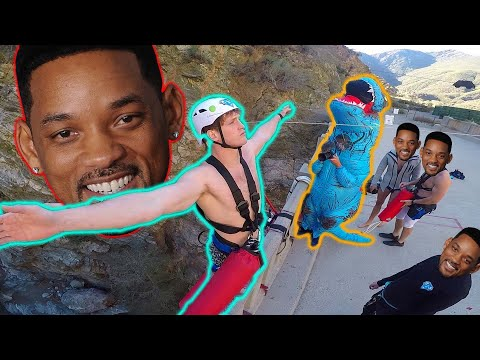 Logan Paul Challenged Will SMITH TO GO BUNGEE JUMPING