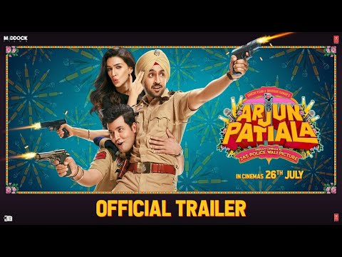 Arjun Patiala Hindi movie official poster 2019.