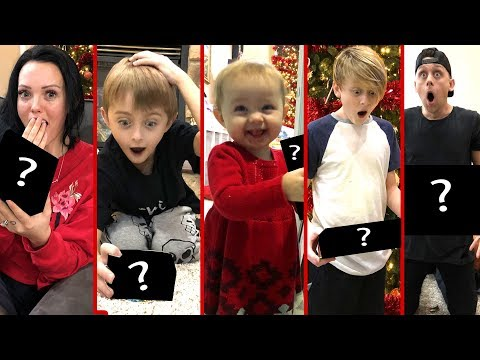 Roman Atwood Christmas Celebrations with his Family.
