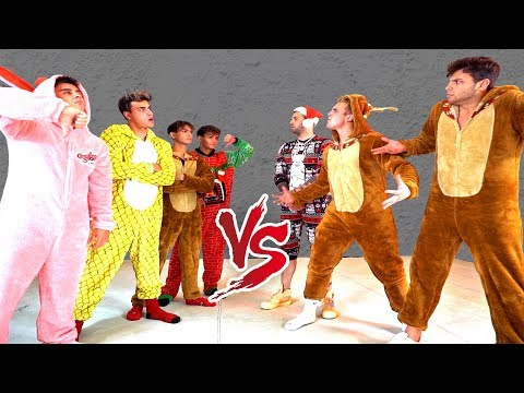 ULTIMATE ONESIE DANCE BATTLE AGAINST THE DOBRE BROTHERS