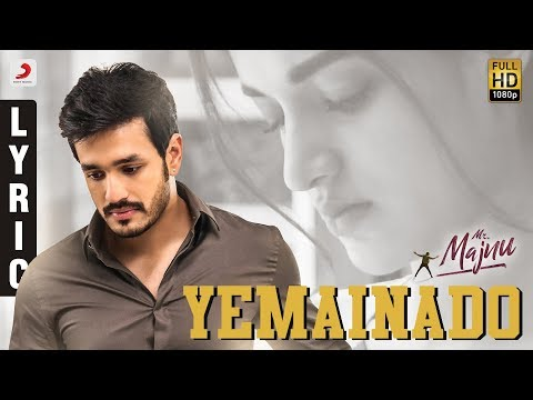 Yemainado  Lyrical video song 2018- Mr. Majnu songs