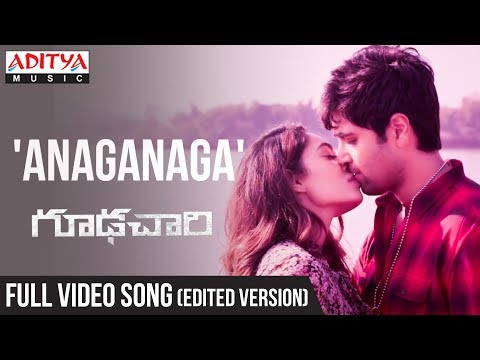 Anaganaga Video Song- Goodachari SongsPicture