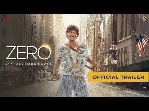 Zero Hindi Movie Official Trailer 2018 Stunmore