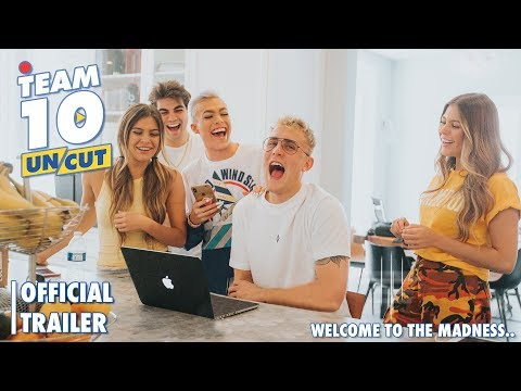 The New Team 10 reality TV show official trailer 2019.