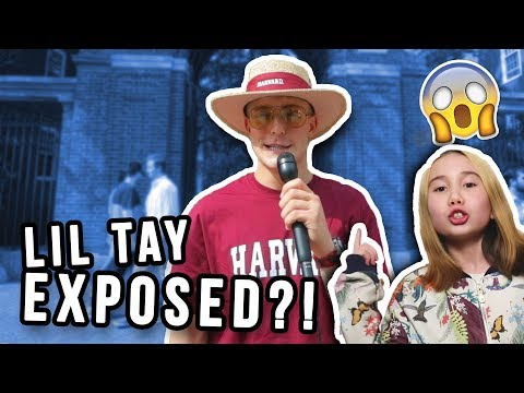 Jake Paul ASKING HARVARD STUDENTS WHAT THEY THINK ABOUT LIL TAY