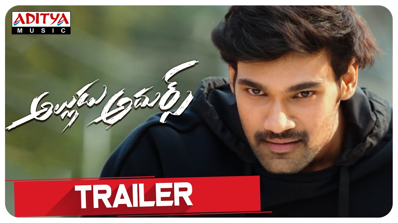 Alludu Adhurs Movie Trailer 2021.