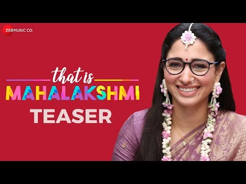 That Is Mahalakshmi movie teaser 2019.