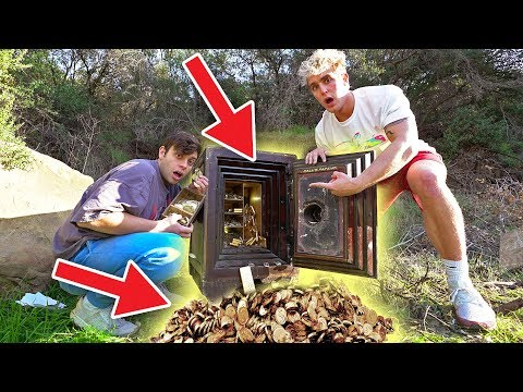 Jake & Anthony FOUND a Secret ABANDONED SAFE Filled WITH GOLD!!