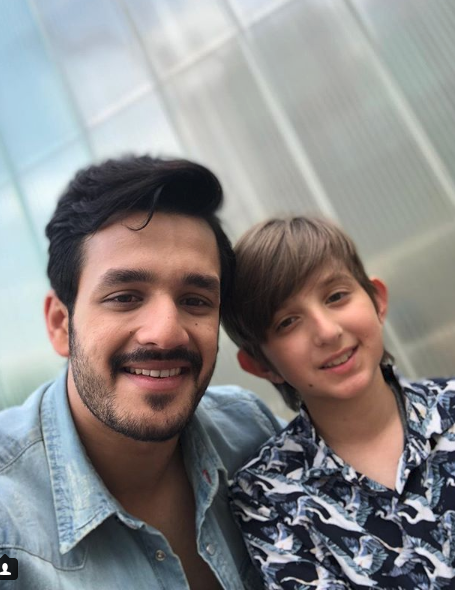 Akhil 3 movie shooting daries