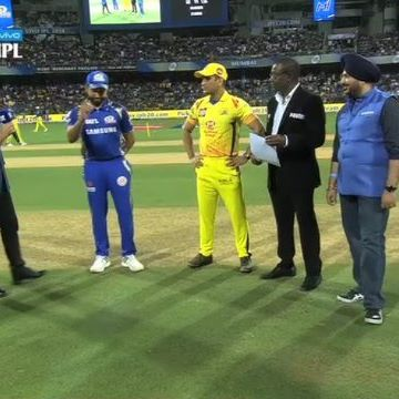 Chennai Super Kings won the toss and elected to bat first against Mumbai Indians.