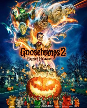 Goosebumps 2: Haunted Halloween Movie Trailer 2018.