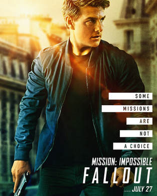 Mission: Impossible - Fallout Release Date: July 27th,2018.