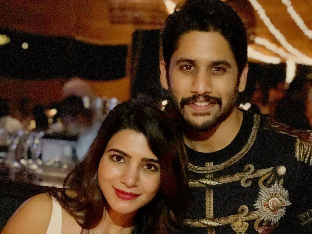 Naga chaitanya is pairing with his better half on silver screen in his 17th film.