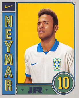 Neymar New look in Fifa with Brazil Jersey