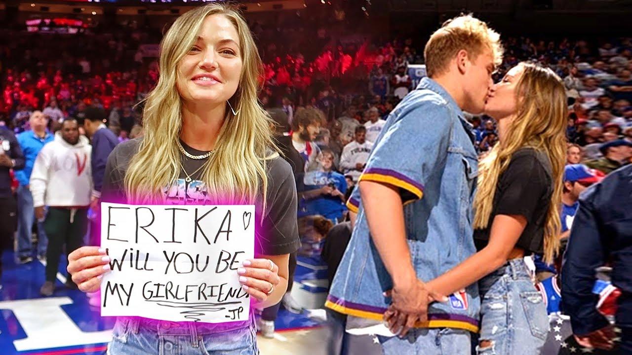 FINALLY Jake Paul ASKED ERIKA TO BE his GIRLFRIEND ON CAMERA - Stunmore