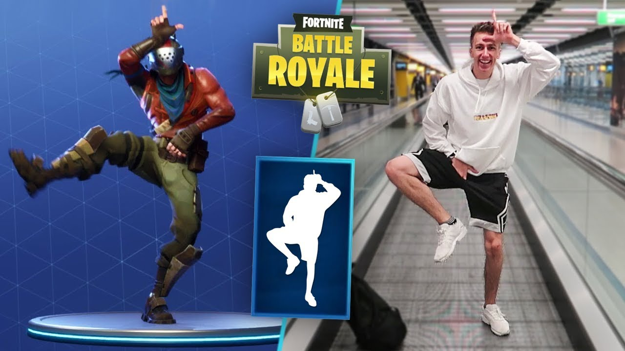 FORTNITE DANCES IN PUBLIC