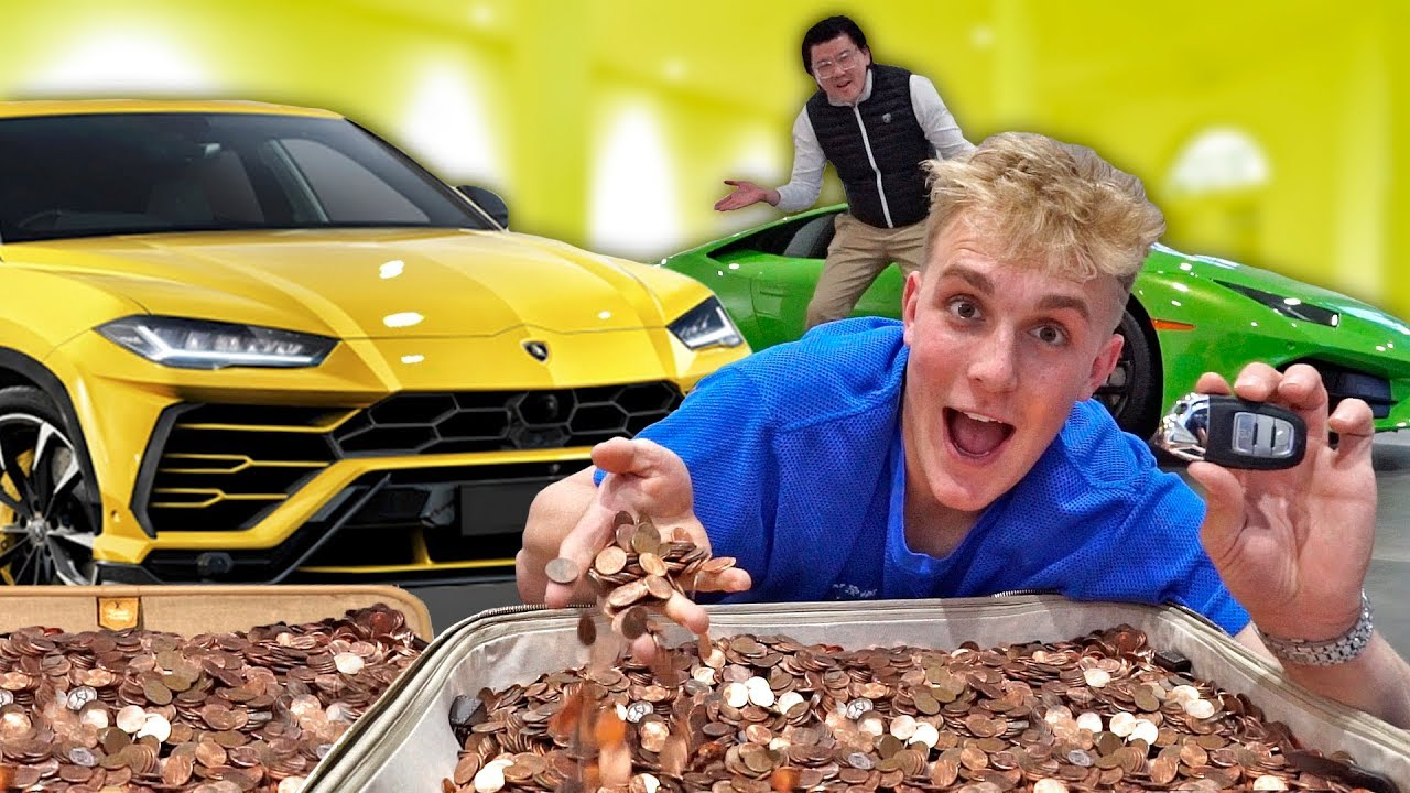 Jake Paul really bought a new Lamborghini with Pennies? - Stunmore
