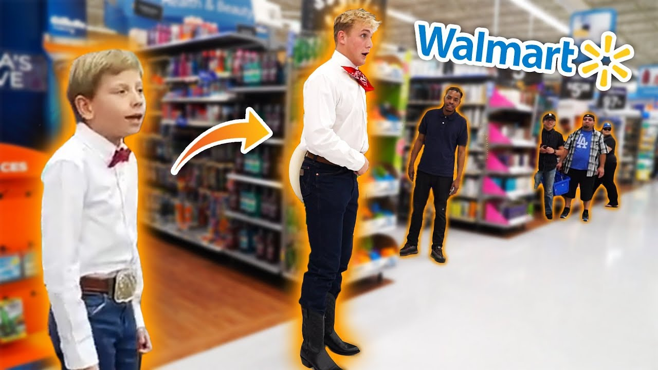 JAKE PAUL YODELING IN WALMART!! *KICKED OUT* - Stunmore