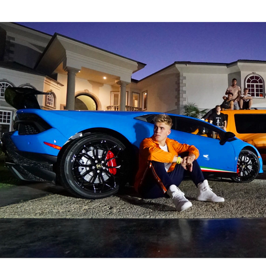 Jake Paul made a video behalf of Need for Speed Payback with four super cars. - Stunmore