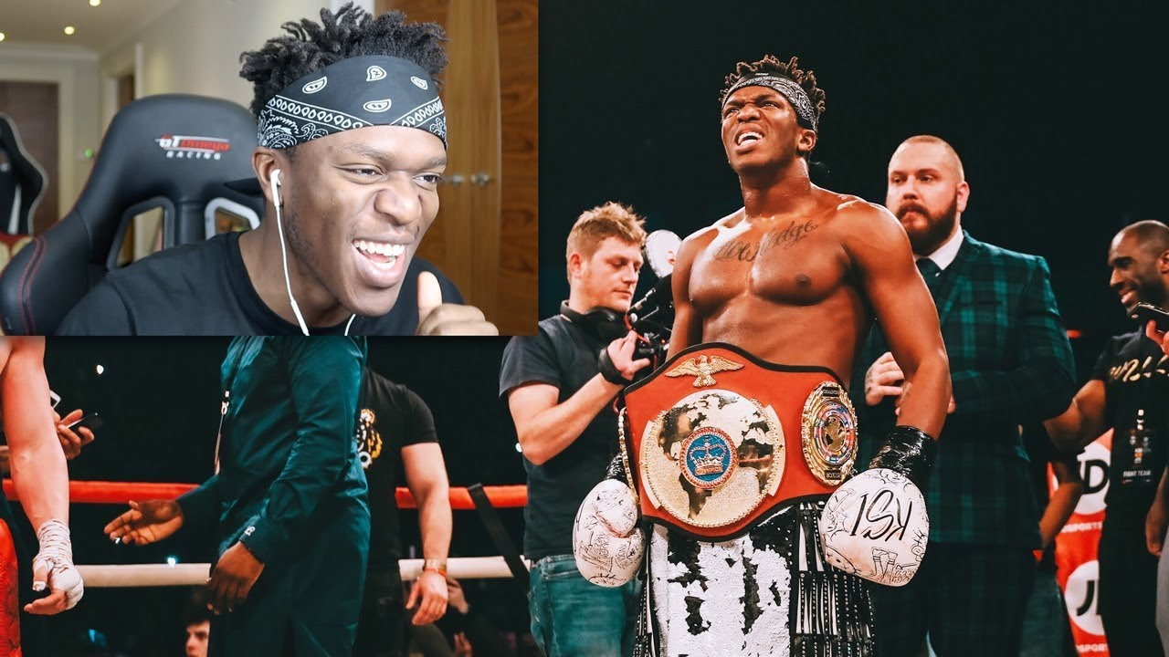 Ksi reacts to KSI-Weller Fight. - Stunmore