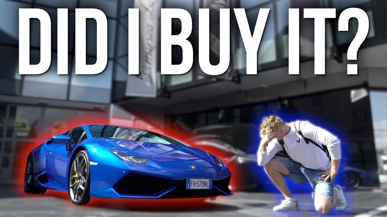 Whether Logan Paul Really Buying Lamborghini In Italy Stunmore
