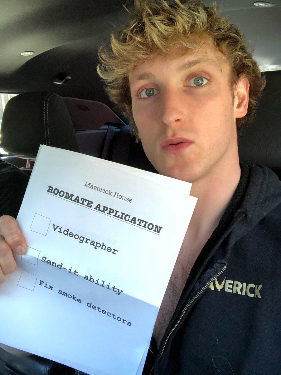 Logan Paul Room Mate Application In The Maverick House