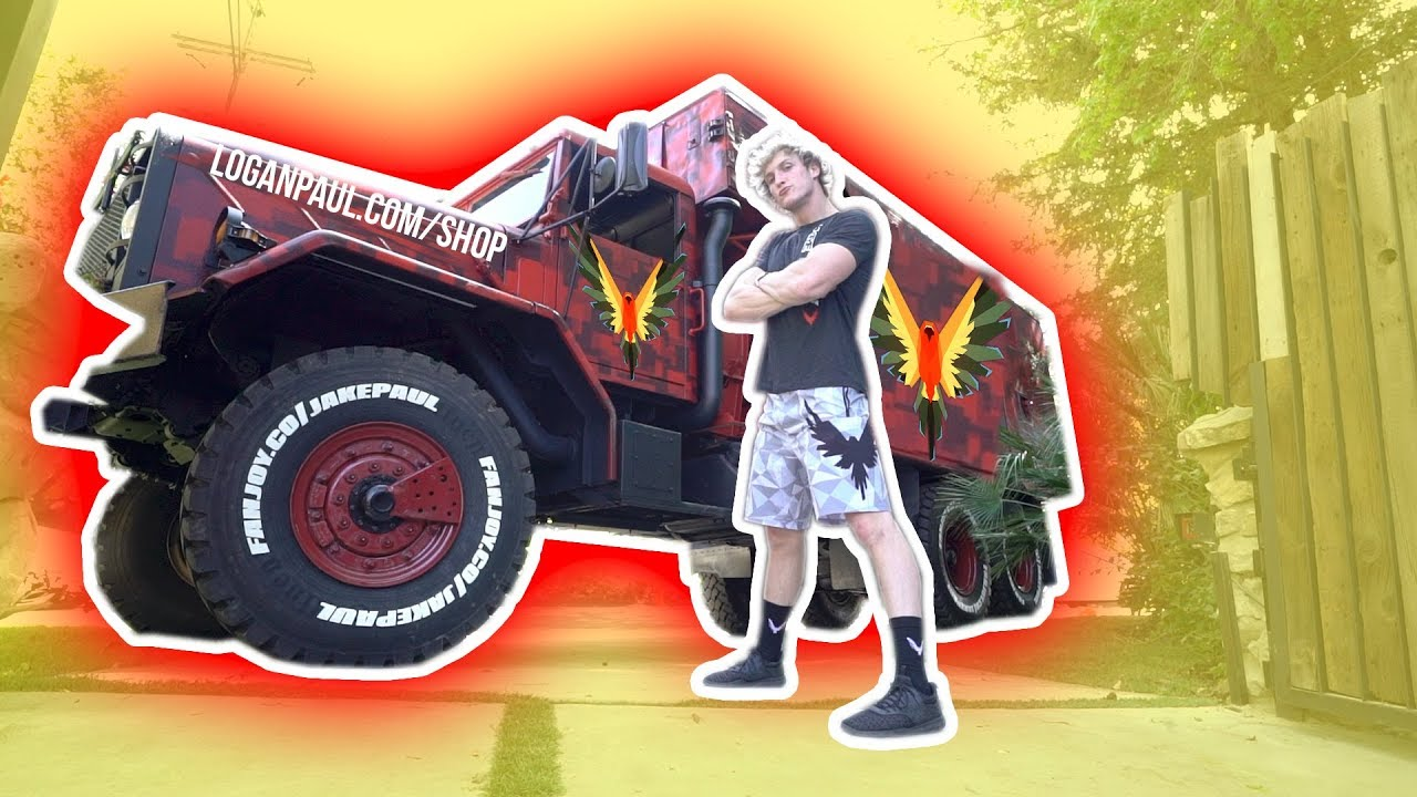 Logan Paul Stole Jake Paul S New Merch Truck Stunmore