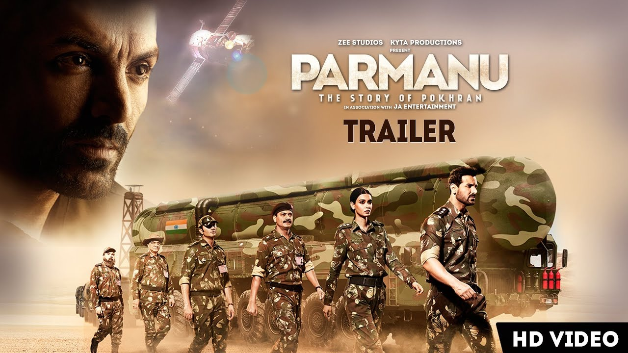 PARMANU: The Story Of Pokhran | OFFICIAL TRAILER