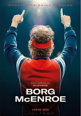 Borg vs. McEnroe movie trailer 2018.