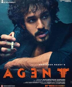 Agent movie first look poster 2021