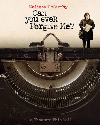 Can You Ever Forgive Me?Movie Release Date:October 19th, 2018