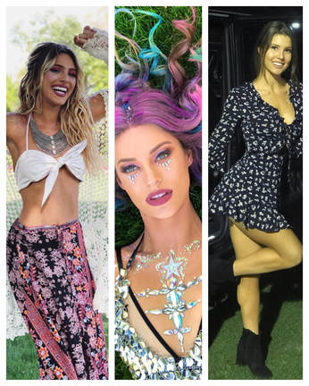Lele Pons,Hannah Stocking,Amanda Cerny enjoying at Coachella party 2018
