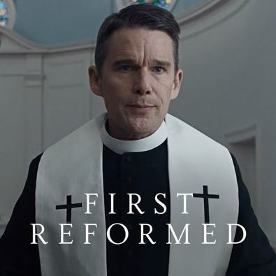 first reformed movie poster 2018