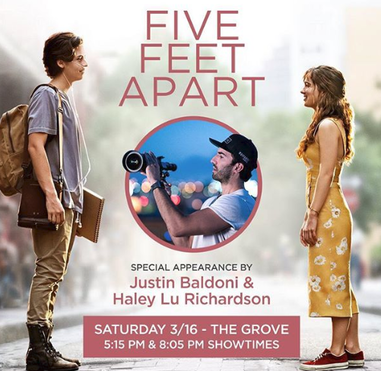 Five Feet Apart Movie second  Trailer 2019