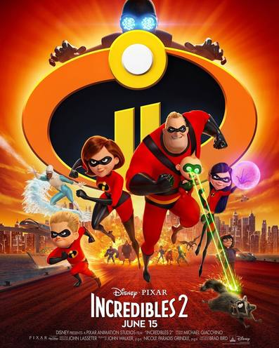 Incredibles 2 movie trailer 2018.