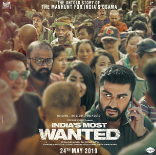 India's Most Wanted Movie Release Date: May 24th, 2019.