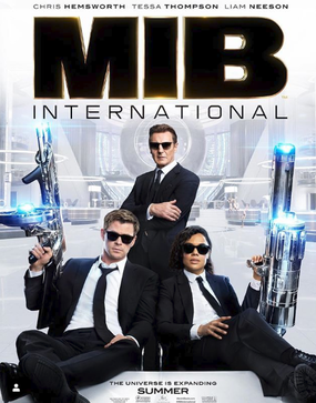 Men in Black International Movie Poster 2019.