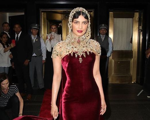 Priyanka Chopra revealed her inspiration behind her outfit.
