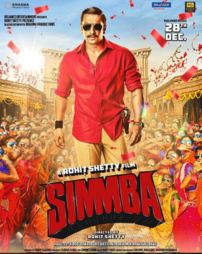 Simmba Movie poster 2018