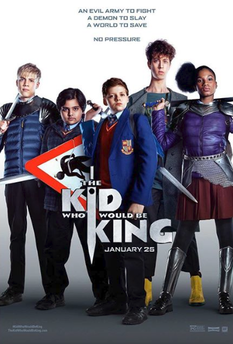 The Kid Who Would Be King Movie Trailer 2019.